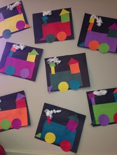 shape craft  for toddlers and preschool. #homeschoolingfortoddlers #homeschoolingideasfortoddlers