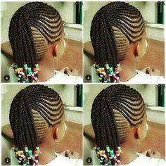 Braids for kids hair Little Girl Braid Styles, Kid Braid Styles, Little Girl Braids, Black Girl Braids, Braids For Kids, Braids For Black Hair, Girls Braids, Lil Girl Hairstyles, Black Kids Hairstyles