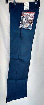 Dickies Work Pants Navy Blue 874 Uniform Original Fit 48 x 32 New