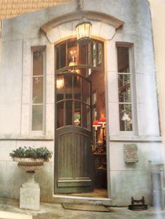 entering thru the side door