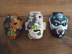 Mighty Max Horror Head Play Sets by Bluebird Toys by jessamyjay on Etsy