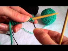The Provisional Cast-On (Knitting with Worldknits) - YouTube