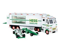New Fresh From Case Never Opened 1 1991 Hess Truck And Racer MIB
