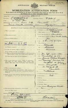 CHARLTON PERCY : Service Number - N413052 : Date of birth - 14 Mar 1894 : Place of birth - LAMBTON NSW : Place of enlistment - ADAMSTOWN NSW : Next of Kin - CHARLTON JEANNE