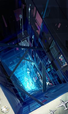 This is a pretty cool elevator anime wallpaper. It is really quite imaginative. I hope u like a lot.