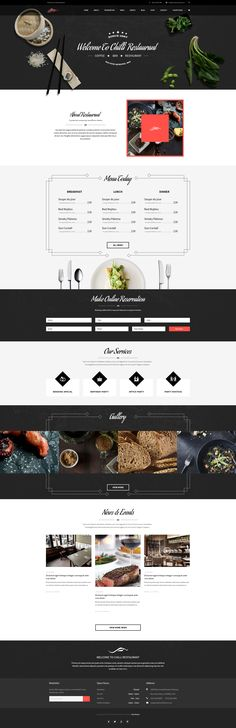 Chilli is the premium PSD template for Cafe, Bistro and Restaurant. Brings in the retro spirit and premium look, the template is nicely tailored with dedicated care to every single deta...