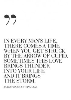 even all the thunder and storm still be positive about it, even how it ends. .