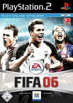 FIFA Soccer 06 Covers PC GameCube PS2 Xbox Games