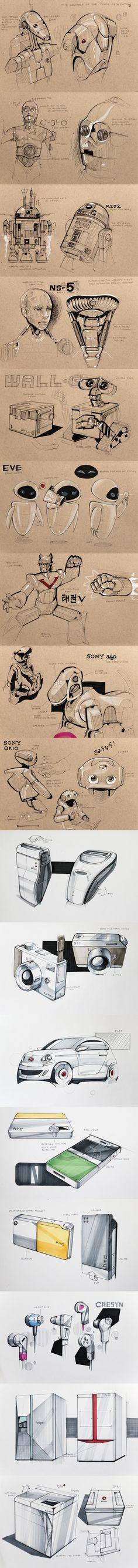 Sketches - 1 — Minimally Minimal