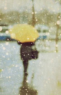 MIXED WITH A FEW DROPS OF SNOW……WOW! …IT'S GETTING A BIT COLDER TOO!!…STEP LIVELY THERE GIRL……TIME TO HURRY IT UP………..ccp