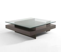 coffee tables Ketel - lacquer and glass
