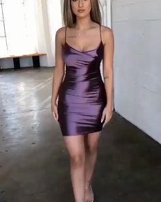 Sexy A Line Short Homecoming Dress Sexy A Line Short Homecoming Dress on Luulla Source by Tight Dresses, Satin Dresses, Sexy Dresses, Cute Dresses, Beautiful Dresses, Dress Outfits, Short Dresses, Fashion Dresses, Cute Outfits