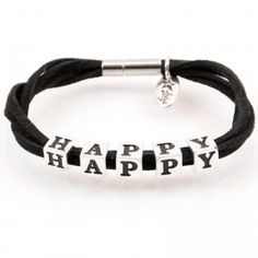 Bracelet HAPPY, LETTERS collection, silver version http://store.lovya.net/letters-from-your-heart-lovya/287-bransoletka-happy-z-kolekcji-letters-wersja-srebrna.html