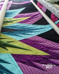 """I've been telling @quilterguy that I'm """"totally going to quilt that one next""""…"""