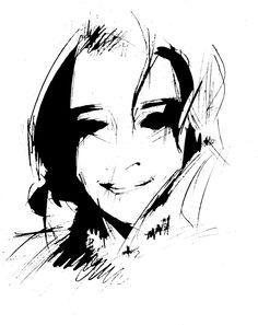 Kika's Portrait — Petros Vasiadis Creative Design