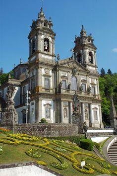 Bom Jesús do Monte church in Braga, Portugal