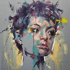 FullSizeRender 12 Jimmy Law, Art Pictures, Photos, Learn Art, Abstract Portrait, Cool Paintings, Face Art, Figurative Art, Art Sketches