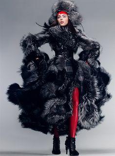 Coco Rocha by Craig McDean / Vogue US