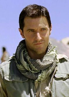 The Path to Greatness: Sgt John Porter ♥ (Richard Armitage in Strike Back Origins) ! Smirk!