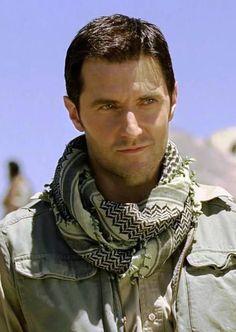 The Path to Greatness: Sgt John Porter ♥ (Richard Armitage in Strike Back Origins) ! Smirk!