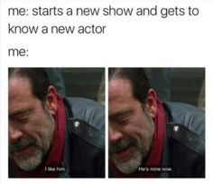 again my boys daryl and eugene Best Tv Shows, New Shows, Best Shows Ever, Walking Dead Funny, The Walking Dead 3, Twd Memes, Walker Stalker, New Actors, Love Movie
