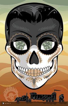 Mad Max Furiosa Sugar Skull 11x17 print