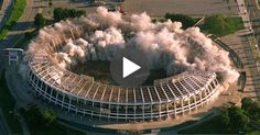 The Most Oddly Satisfying Building Demolition Video In The World Amazing Implosions Explosion