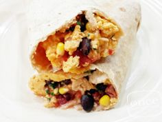 Mexican Breakfast Burritos | OAMC from Once A Month Mom