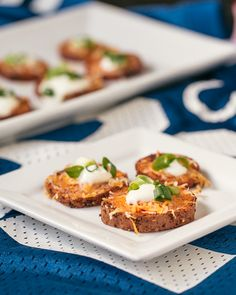 """""""Loaded"""" Sweet Potato Rounds- kickoff a Cool Foods diet this football season and score big with organic dairy in these whole food appetizers"""