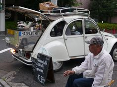 2CV coffee shop.