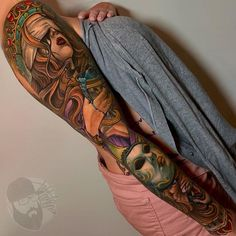 Tattoo competition page for Best Arm Sleeve Tattoos Arm Sleeve Tattoos For Women, Best Tattoos For Women, Tattoos For Guys, Cool Tattoos, Masculine Tattoos, Feminine Tattoos, Female Tattoos, Inked Shop, Inked Magazine