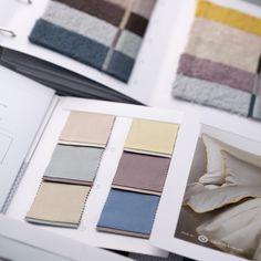 Заказ по каталогам махровых полотенец и постельного белья в нашем шоу-руме на Сретенке.