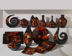 Jarrones, platos y figuras de ceramica coleccion FOLA. Decoracion Beltran, ideas en decoracion de interiores. www.decoracionbeltran.com
