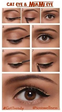 Love dressing up? Add a spark to your look with this glamorous DIY Eye makeup.