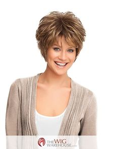 The all-over layers of the Gala wig by Gabor offers exceptional height and texture at the crown, while also ensuring that you are afforded plenty of wavy charm. The gorgeous locks of this wig have a w