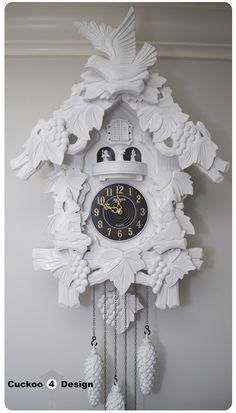 painted cuckoo clocks - Cuckoo4Design