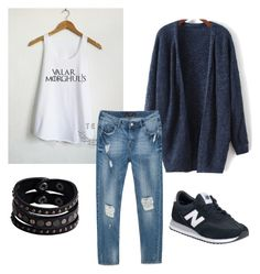 """Game of thrones pt II"" by renee-montelbano on Polyvore featuring Zara, New Balance and Replay"