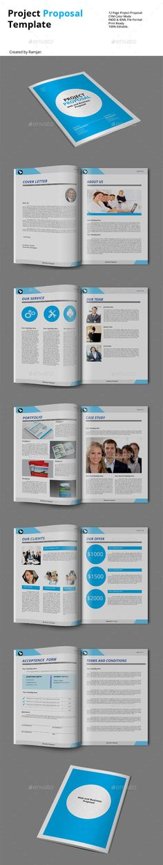 Business Proposal Template w\/ Resume \ Invoice 60+ Pages Project - business proposal template microsoft word