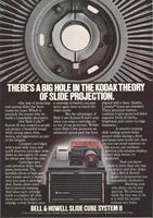 Bell & Howell Slide Cube System II 1979 Ad Picture