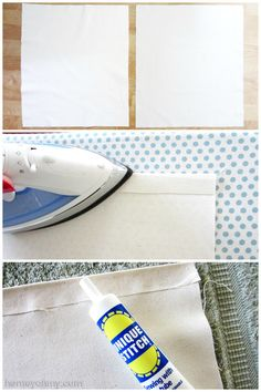 DIY No-Sew Tote Bag by Homey Oh My