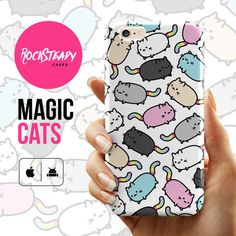 Kawaii Cat Patten iPhone 6s case iPhone 6 case by RockSteadyCases