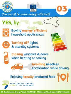 Can we all be more energy efficient?  #EnergyEfficiency #RenewableEnergy