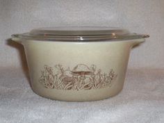 Pyrex Forest Fancies 473 Casserole by thetrendykitchen on Etsy