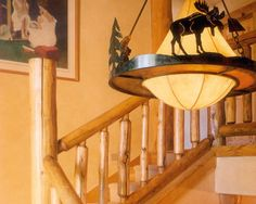 Staircase Cabin Design, Pictures, Remodel, Decor and Ideas