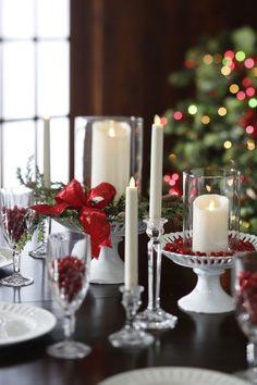 Super Diy Table Centerpieces For Home Flameless Candles Ideas Table Centerpieces For Home, Diy Table, Centerpiece Ideas, Candle Centerpieces, Christmas Candle Decorations, Christmas Candles, Christmas Arrangements, Floral Arrangements, Modern Christmas