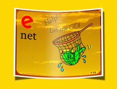 Here are some more 'net' words: network, netted, internet, bassinet, clarinet. Can you think of any others? Don't let any slip through the net!