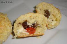 Paozinho de Minuto Recheado   Palmirinha Onofre    Mesa de café pratico, pãozinho de fermento em pó para bolo. Receita da Vovó Palmirinh...