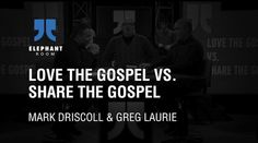 This conversation is from March 2011, moderated by Pastor James MacDonald of Harvest Bible Chapel, Chicago; it addresses loving the gospel vs. sharing the gospel.