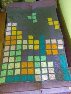 Pchły Szachrajki: Tetris- dziecięcy kocyk