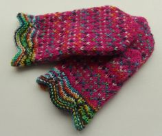 BabyKnitted Mittens,Winter Accessories,Kids Hand Knitted,Gloves, Pink,Multicolored